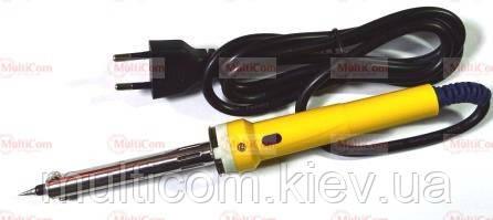 13-02-118. Паяльник 60W c LED індикатором, ніхромовий нагрівач, вилка б/з, YIHUA 860