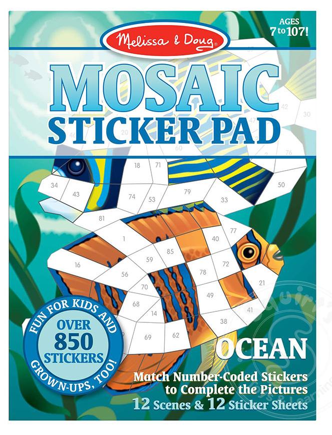 Мозаичные наклейки Океан Melissa&Doug (MD30161)