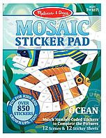 Мозаичные наклейки Океан Melissa&Doug (MD30161), фото 1