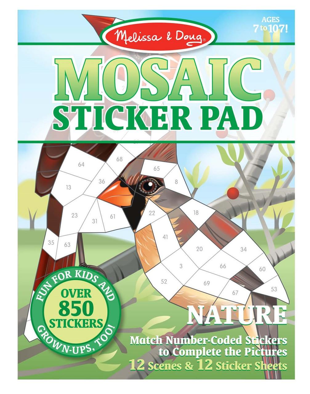 Мозаичные наклейки Природа Melissa&Doug (MD30162)