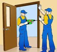 Устанавливаем межкомнатные дверь