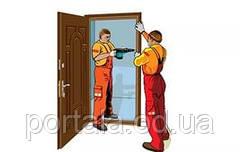 Как самостоятельно установить входную дверь