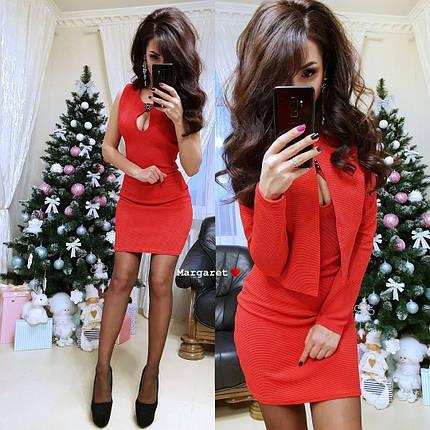Платье+пиджак накидка, размер 42-44, фото 2