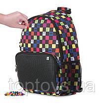 Рюкзак Pixie Crew різнокольоровий в клітку (PXB-02-Y24)
