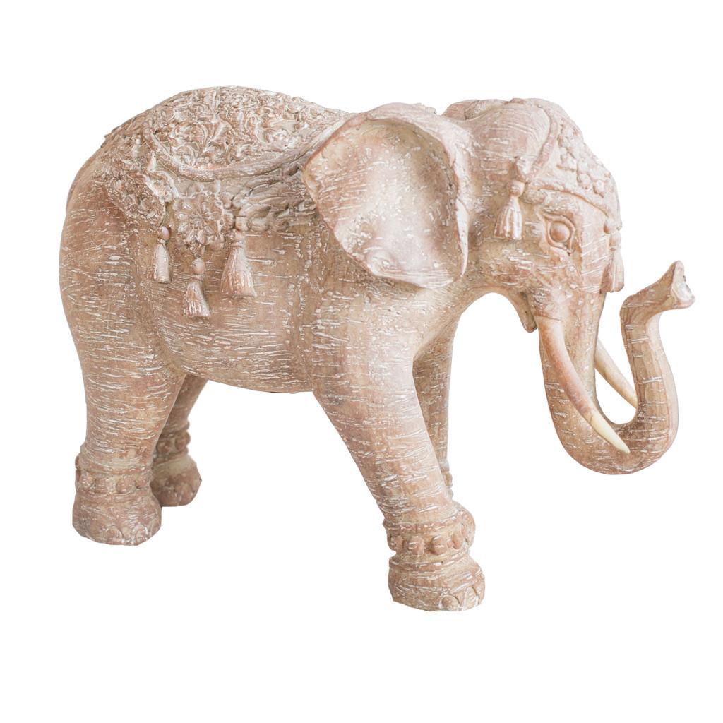 Интерьерный декор слон 20см  108266