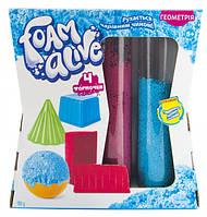 Набір для дитячої творчості з повітряною піною Foam Alive Геометрія (5905)