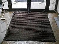 Ковер грязезащитный Рубчик-16 коричневый 100х150см