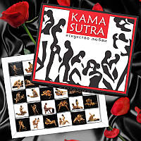 Шоколадний подарунковий набір Shokosmile Kamasutra 30шт Шоколадный набор Камасутра 150г Подарок для влюбленных