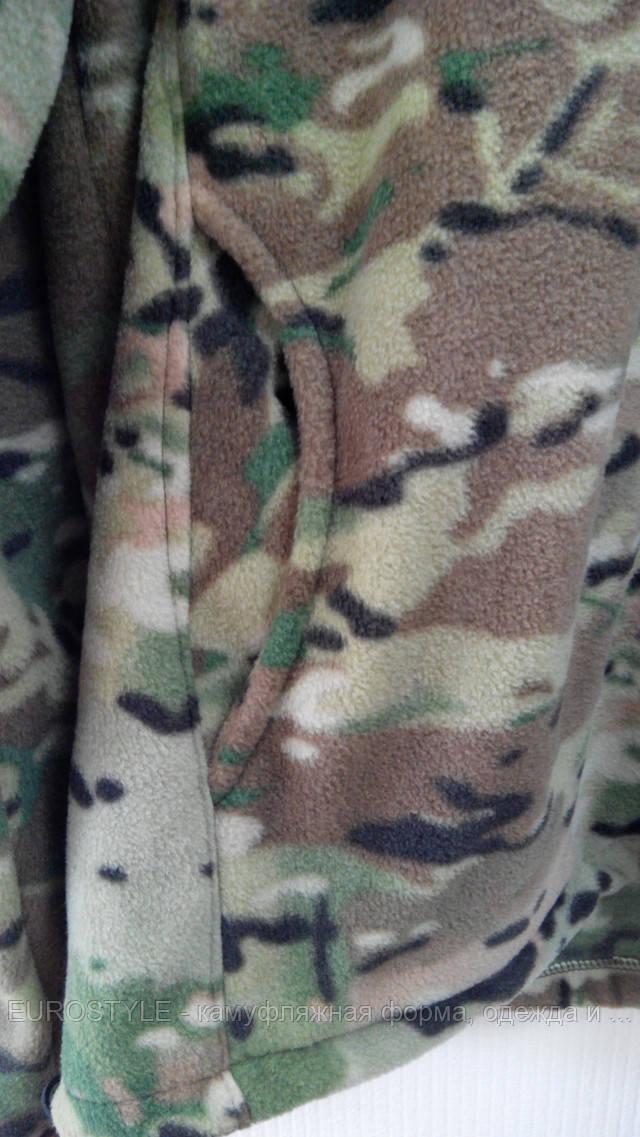 Камуфляжная флисовая куртка купить