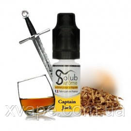 "Ароматизатор Solub ""T Captain Jack"" со вкусом табака, рома и виски, микс для самозамеса   5 мл"