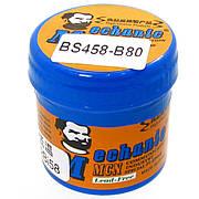 Паста BGA легкоплавкая MECHANIC BS458-B80 60 гр, Sn 42%, Bi 58%