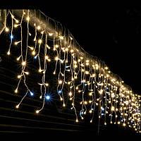Гирлянда Бахрома (100 ламп) Микс (разноцветная) 2,2х0,6м