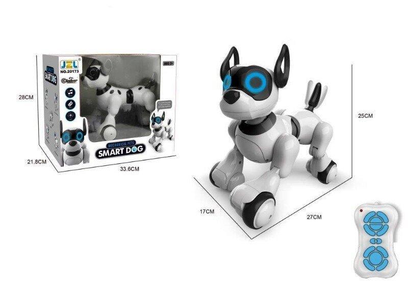 Інтерактивна собака 20173-1 на радіоуправлінні з музикою, світлом, ходить, танцює