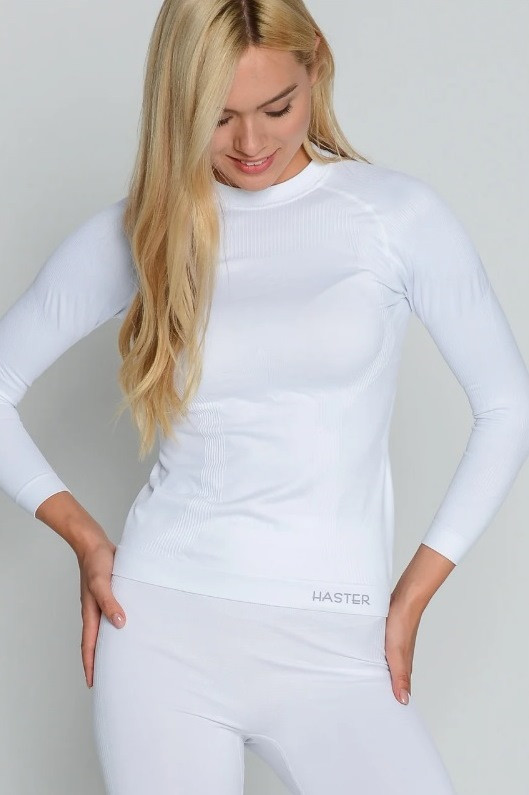 Женская термокофта для спорта HASTER ProClima зональная бесшовная