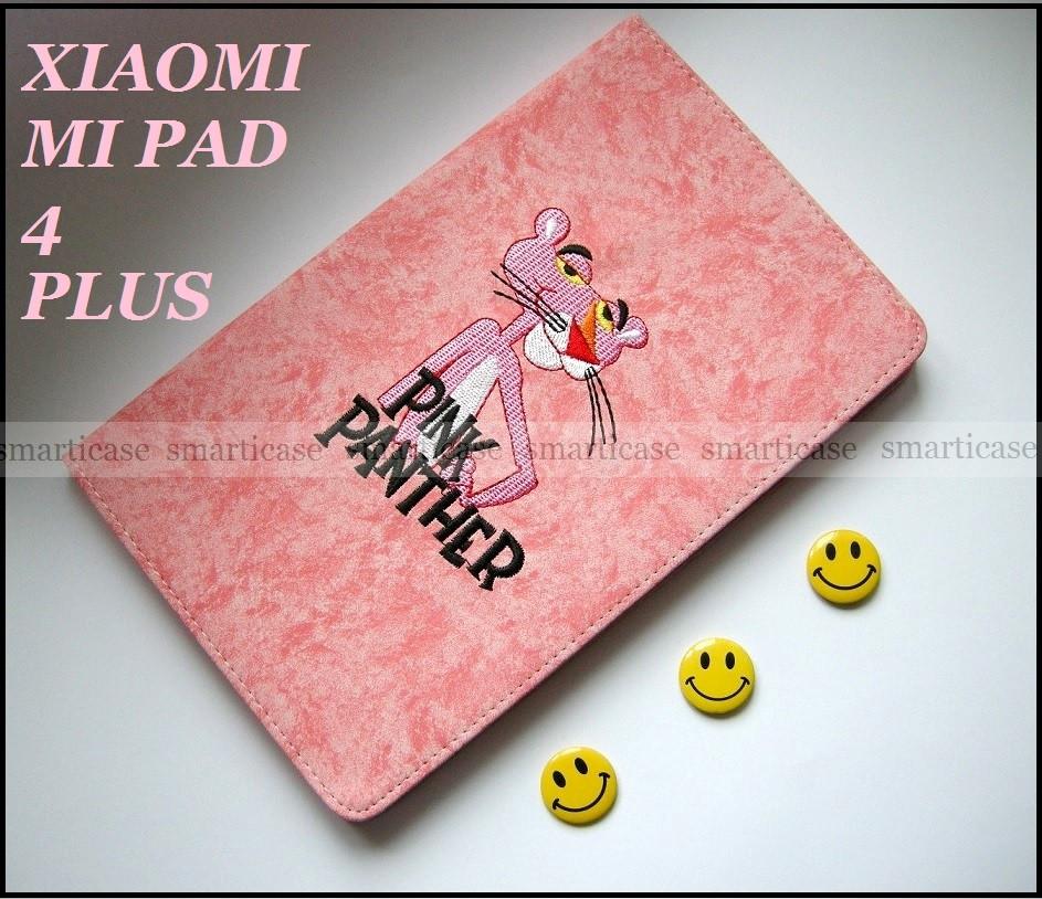 Розовый смарт чехол с рисунком для девочки на Xiaomi Mi pad 4 plus (10.1)