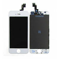 Дисплей для APPLE iPhone 5S с белым тачскрином high copy