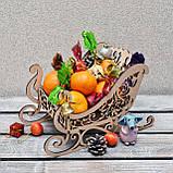 Новогодние сани для сладостей (А00727), фото 3