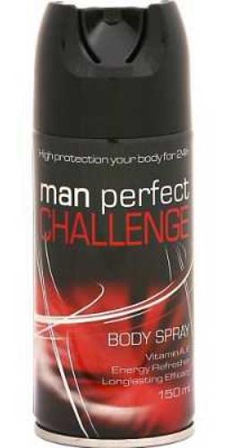 Дезодорант мужской Man Perfect Challange 150мл