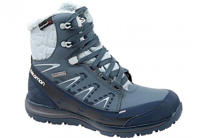 Ботинки зимние женские Salomon Kaina Mid CS WP 366804