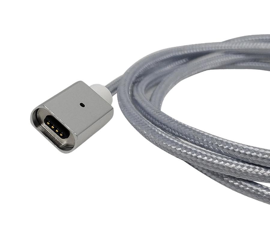 Магнитный шнур FEL3.0, Essager (без коннектора) 1 м, серебристый