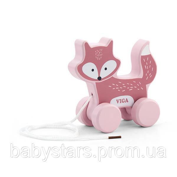 Каталка Viga Toys PolarB Лиса (44002)