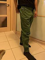 Карго штаны олива на манжетах  Subciety Supreme, фото 2