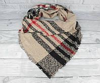 Двусторонний шерстяной платок Ashma 7880-3, фото 1