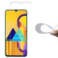 Гибкое защитное стекло 2.5D Nano (без упаковки) для Samsung Galaxy M30 / M30s