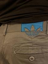 Классические штаны Adidas Original серые, фото 3