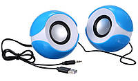 Компьютерная акустика (USB-колонки) G102 синий