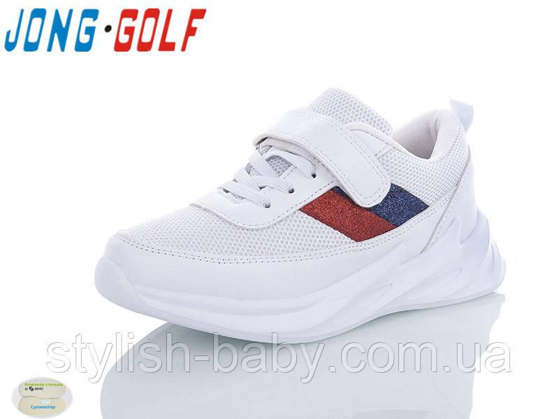 Детские кроссовки 2020 оптом. Детская спортивная обувь бренда Jong Golf для мальчиков (рр. с 31 по 36)