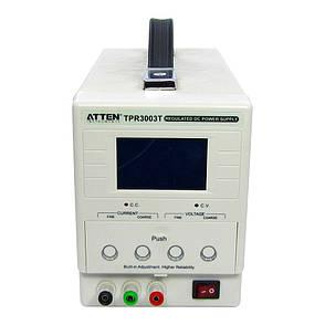 Блок питания ATTEN TPR3003T 30V 3A, с ЖКД, высокоточная цифровая индикация, фото 2