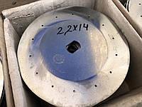 Диск высевающий 2,2; 2,5; 3; 4,5х22 СУПН-8 нержавейка, фото 1