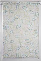 Готовые рулонные шторы Ткань Abris Зелёный 1175*1500