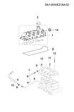Прокладка клапанной крышки чери a13 ЗАЗ Форза, 477f-1003041, фото 4