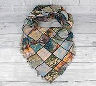 Двусторонний шерстяной платок Ashma 7880-2, фото 1