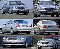 Продам решетку бампера переднего на Мерседес(Mercedes 220)2004
