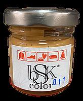 Краска крем для гладкой кожи 50 мл светло-бежевая bsk-color
