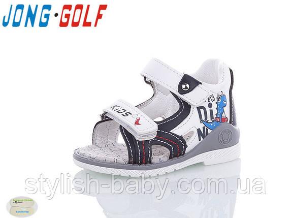 Детская летняя обувь 2020 оптом. Детские босоножки бренда Jong Golf для мальчиков (рр. с 19 по 24), фото 2