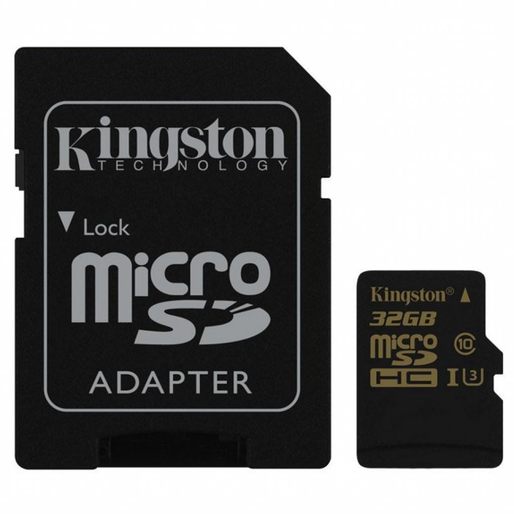 Карта памяти Kingston 32Gb microSDHC class10\A U3 .