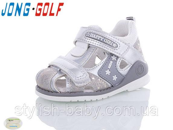 Детская летняя обувь 2020 оптом. Детские босоножки бренда Jong Golf для девочек (рр. с 19 по 24), фото 2