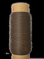 Нить обувная 500 метров  коричневая вощеная, диаметр нити: 1,0мм