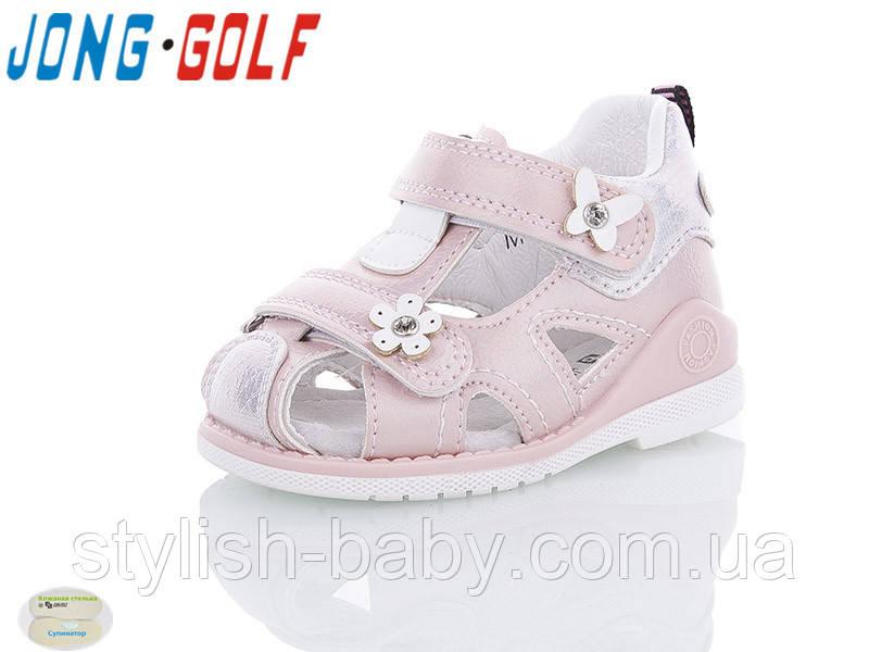 Детская летняя обувь 2020 оптом. Детские босоножки бренда Jong Golf для девочек (рр. с 19 по 24)