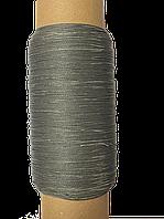 Нить обувная 500 метров  серая вощеная, диаметр нити: 1,0мм