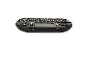 Беспроводная клавиатура с тачпадом Rii mini i8+ Черная (100072), фото 2