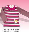 Дитяча бавовняна блуза з довгим рукавом Цирк в смужку (Nicol, Польща), фото 7