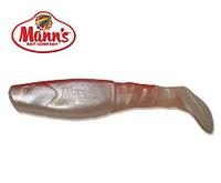 Силиконовая приманка Manns Predator 4 M-077 BR SMSH красная спина, перламутровый с блесткой 115мм