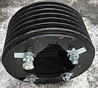Шкив двигателя ЯМЗ-238АК привода молотилки (лев.сторона) D=270 увеличенный ДОН-1500, фото 4