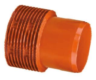 Переход d 250мм х 250мм InCor-ПВХ гладкий, для канализации