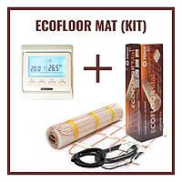Нагревательный мат Fenix LDTS 12810 ( 5.1 м2) с Программируемым терморегулятором E-51  (Премиум)